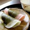 やさしく春香る秋田市勝月の桜餅。